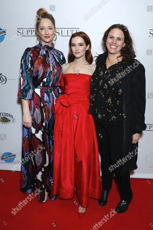 Judy Greer, Zoey Deutch and Tanya Wexler, director