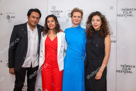 Stock Picture of Samrat Chakrabarti, Sonejuhi Sinha, Cynthia Nixon, Geentanjali Thapa