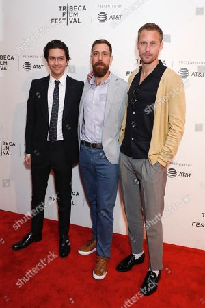 Nat Wolff, Dan Krauss, director and Alexander Skarsgard