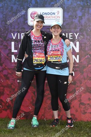 Emma Barton and Natalie Cassidy