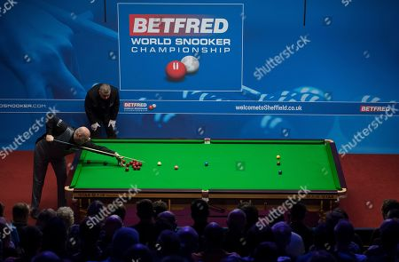 Editorial picture of Betfred World Championships, Snooker, Day Nine, The Crucible Theatre, Sheffield, UK, 28 Apr 2019