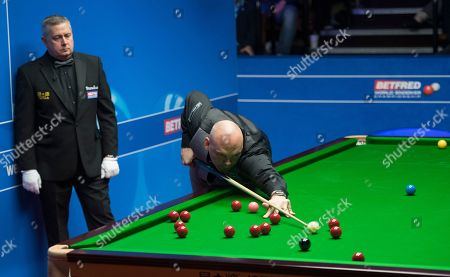Editorial image of Betfred World Championships, Snooker, Day Nine, The Crucible Theatre, Sheffield, UK, 28 Apr 2019