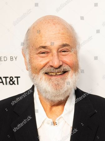 "Rob Reiner attends the 35th anniversary screening for ""This is Spinal Tap"" during the 2019 Tribeca Film Festival at the Beacon Theatre, in New York"