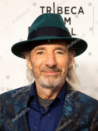 "Harry Shearer attends the 35th anniversary screening for ""This is Spinal Tap"" during the 2019 Tribeca Film Festival at the Beacon Theatre, in New York"