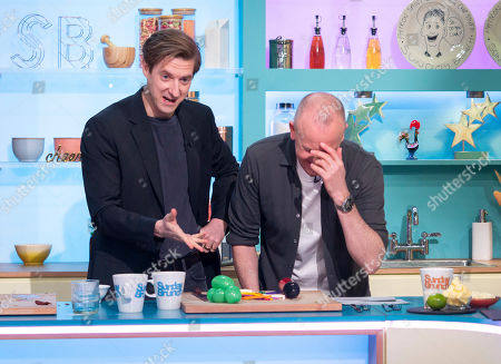 Arthur Darvill and Tim Lovejoy