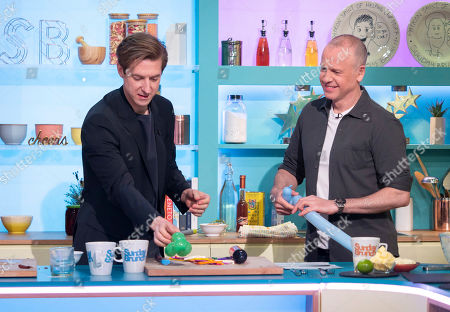 Stock Photo of Arthur Darvill and Tim Lovejoy