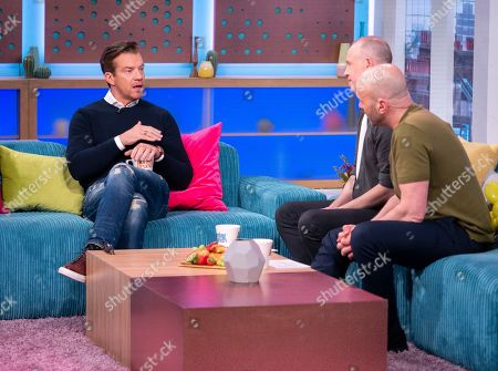 Max Beesley, Tim Lovejoy and Simon Rimmer