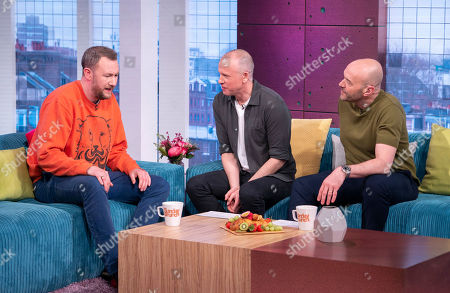 Alex Horne, Tim Lovejoy and Simon Rimmer