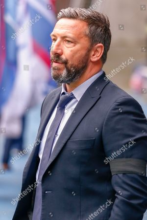 Aberdeen FC Manager Derek McInnes during the Ladbrokes Scottish Premiership match between Rangers and Aberdeen at Ibrox, Glasgow