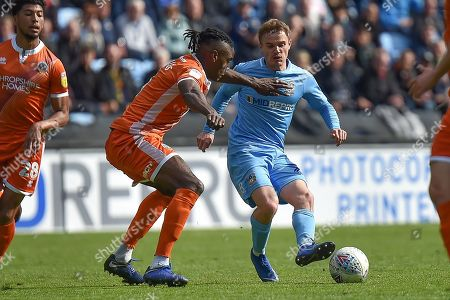 Editorial picture of Coventry City v Shrewsbury Town, EFL Sky Bet League 1 - 28 Apr 2019