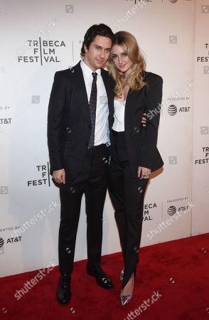 Nat Wolff and Grace Van Patten