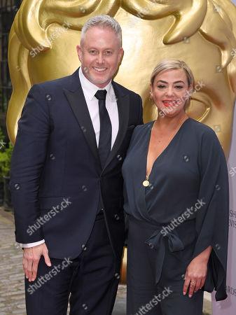 Stock Photo of Lisa Armstrong and Jason Gilkison