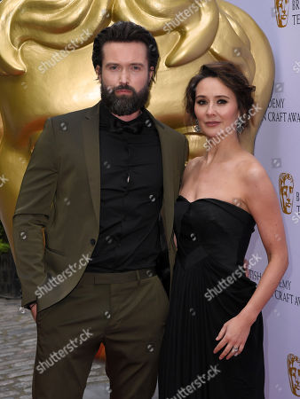 Stock Photo of Emmett J. Scanlan and Claire Cooper
