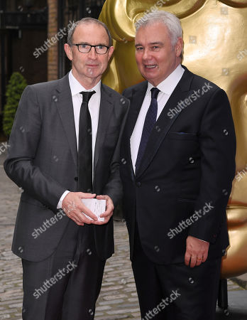Martin O'Neill and Eamonn Holmes