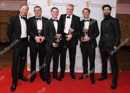 Darren Banks, Nigel Heath, Steve Philips, Tom Williams - Sound: Fiction - Killing Eve