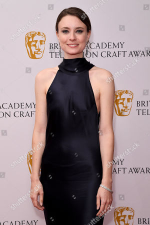 Editorial image of British Academy Television Craft Awards, Press Room, London, UK - 28 Apr 2019