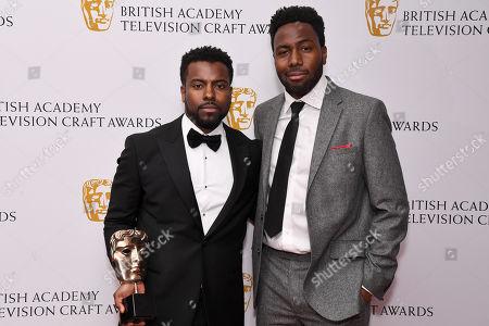 Editorial photo of British Academy Television Craft Awards, Press Room, London, UK - 28 Apr 2019
