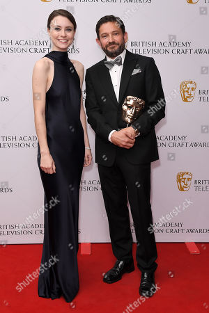 Editorial photo of British Academy Television Craft Awards, Press Room, London, UK - 28 Apr 2019