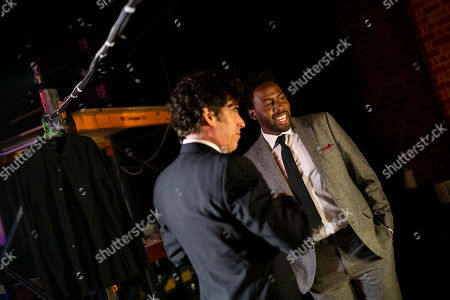 Daniel Lawrence Taylor and Stephen Mangan