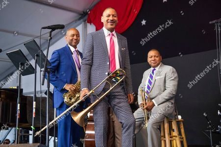 Editorial image of 2019 Jazz and Heritage Festival - Weekend 1 - Day 4, New Orleans, USA - 28 Apr 2019