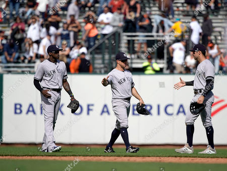 Editorial picture of Yankees Giants Baseball, San Francisco, USA - 28 Apr 2019