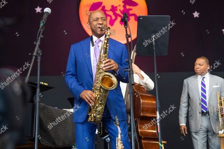 Editorial picture of 2019 Jazz and Heritage Festival - Weekend 1 - Day 4, New Orleans, USA - 28 Apr 2019