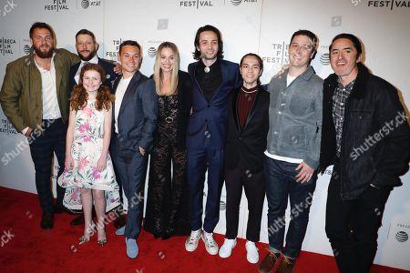 Tom Ackerley, Brad Feinstein, Darby Camp, Finn Cole, Margot Robbie, Miles Joris-Peyrafitte, Steven Dinh and Brian Kavanaugh-Jones