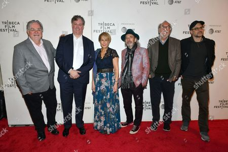 Yeardley Smith, Matt Selman, Harry Shearer, Al Jean, James L Brooks, and Matt Groening