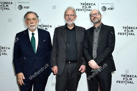 Stock Photo of Francis Coppola, Walter Murch, Steven Soderbergh