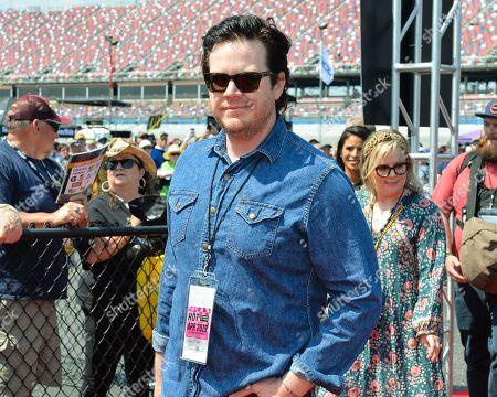 Walking dead actor, Josh McDermitt, before the Geico 500 at Talladega Super Speedway in Talladega, AL. Kevin Langley/Sports South Media/CSM