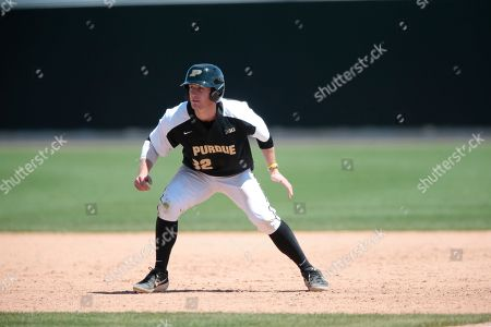 H30. Purdue's Cole McKenzie (32) in action during an NCAA college baseball game between Purdue and Southeast Missouri State, in West Lafayette, Ind