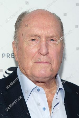 "Robert Duvall attends a screening of the ""40th Anniversary and World Premiere of Apocalypse Now Final Cut"" during the 2019 Tribeca Film Festival at the Beacon Theatre, in New York"