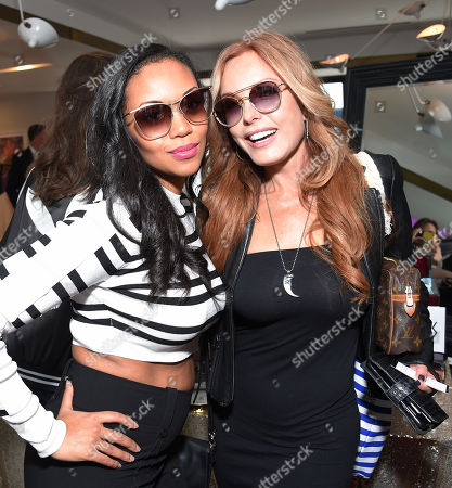 Mishael Morgan and Tracey E Bregman