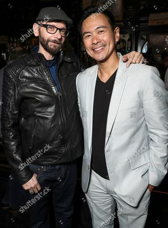 DJ Qualls and Joel De La Fuente