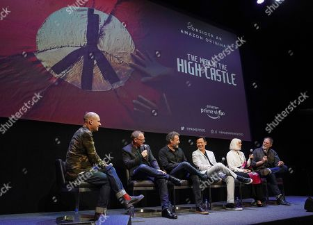Dominic Patten, Daniel Percival, Rufus Sewell, Joel De La Fuente, Catherine Adair and Drew Boughton