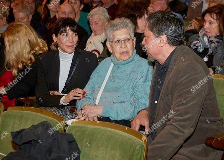 Cecilia Gessa, Pilar Bardem and Carlos Bardem