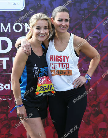 Helen Skelton and Kirsty Gallacher