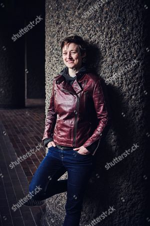 Stock Image of London United Kingdom - May 2: Portrait Of English Science Fiction And Fantasy Author Catherine Webb Photographed At The Barbican In London On May 2
