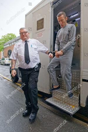 Editorial image of Jason Shaun Farrell at Swansea Magistrates Court, Wales, UK - 29 Apr 2019