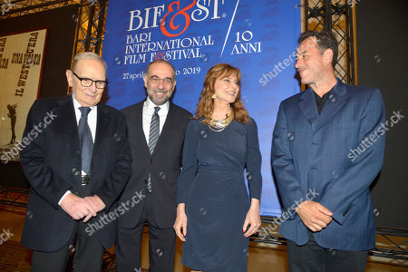 Editorial image of Bari International Film Festival, Italy - 28 Apr 2019