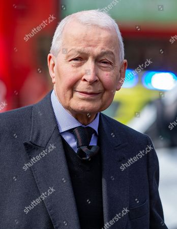 Editorial picture of Frank Field, London, UK - 29 Apr 2019