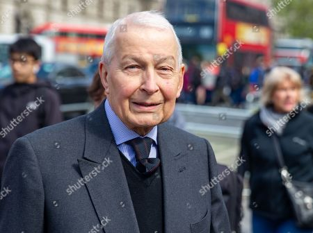 Editorial image of Frank Field, London, UK - 29 Apr 2019