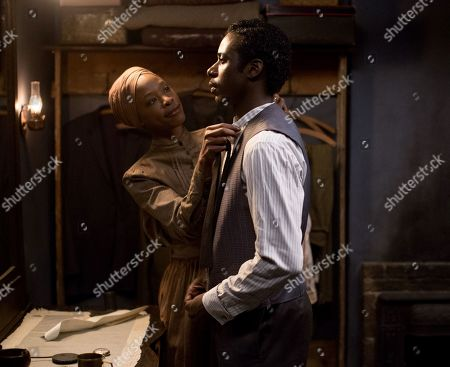 Karimah Westbrook as Alice Bolden and Gary Carr as Buddy Bolden