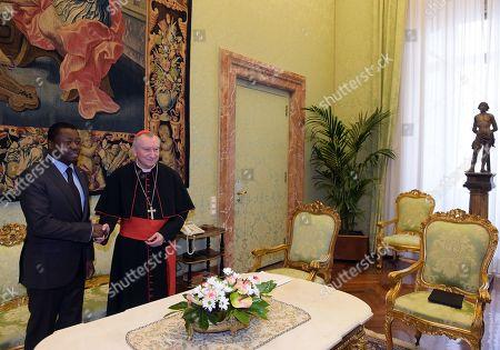 President of Togo Essozimna Gnassingbe, Cardinal Pietro Parolin