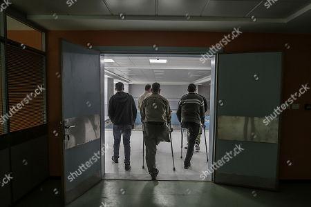 Editorial photo of Sheikh Hamad Bin Khalifa Al-Thani Hospital for rehabilitation and prosthetics in Gaza, Northern Gaza Strip, --- - 29 Apr 2019
