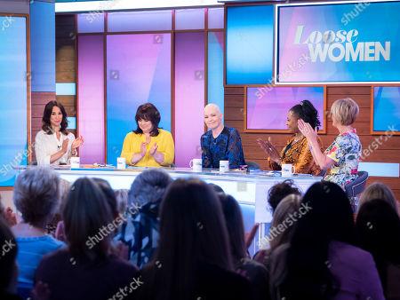 Andrea McLean, Coleen Nolan, Beverley Craven, Brenda Edwards and Jane Moore