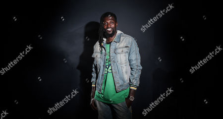 Editorial image of Emmanuel Adebayor photoshoot, London, UK - 26 Apr 2019