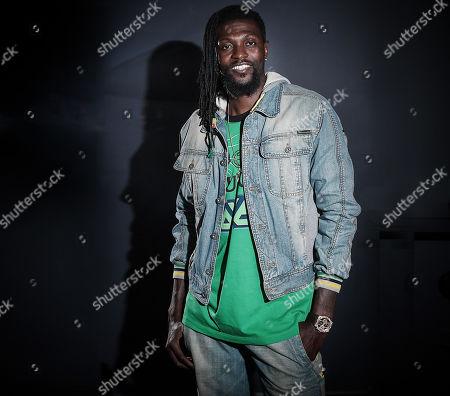 Editorial picture of Emmanuel Adebayor photoshoot, London, UK - 26 Apr 2019