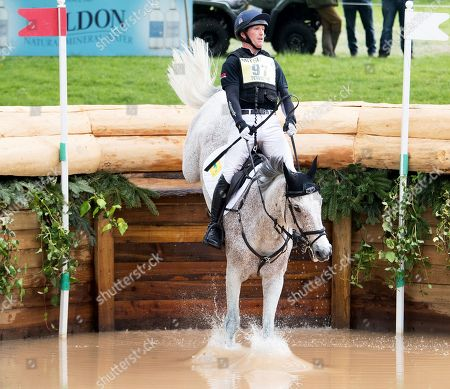 Oliver Townend (GBR) on Ballaghmor Class finishes in 1st place after the Cross Country Test Badminton