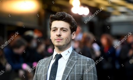 Anthony Boyle arrives to the British premiere of 'Tolkien' at the Curzon cinema in Mayfair in London, Britain, 29 April 2019. The movie opens across UK theaters on 03 May.